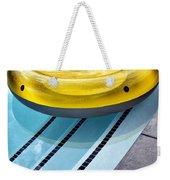 Yellow Float Palm Springs Weekender Tote Bag