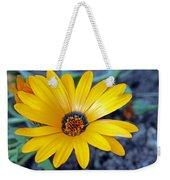 Yellow Flower Helianthus Weekender Tote Bag