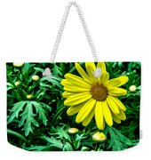 Yellow Flower Of Spring Weekender Tote Bag