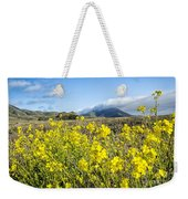 Yellow Foreground Weekender Tote Bag