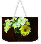 Yellow Gerbera Weekender Tote Bag