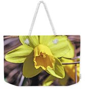 Yellow Glory Weekender Tote Bag