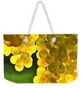 Yellow Grapes Weekender Tote Bag by Elena Elisseeva