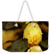 Yellow Hibiscus Late Afternoon Weekender Tote Bag