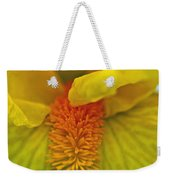 Yellow Iris Beard Weekender Tote Bag