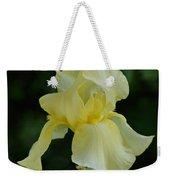 Yellow Iris Weekender Tote Bag by Sandy Keeton