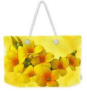 Yellow Kalanchoe - Succulent Sunshine Weekender Tote Bag