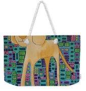 Yellow Lab Pup Weekender Tote Bag
