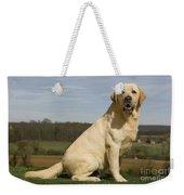 Yellow Labrador Dog Weekender Tote Bag