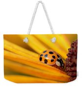 Yellow Lady - 1 Weekender Tote Bag