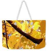Yellow Leaves Weekender Tote Bag