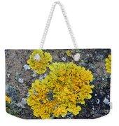 Yellow Lichen Weekender Tote Bag