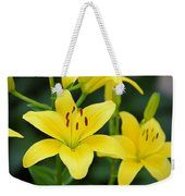 Yellow Lilly 8107 Weekender Tote Bag