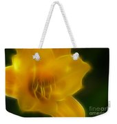 Yellow Lily 6069-fractal Weekender Tote Bag