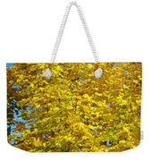 Yellow Maple Weekender Tote Bag