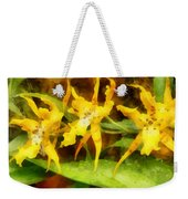 Yellow Miltassia Orchids Weekender Tote Bag