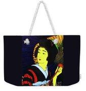 Yellow Moon Geisha Weekender Tote Bag