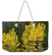 Yellow On Green Weekender Tote Bag