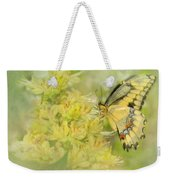 Yellow On Yellow  Weekender Tote Bag