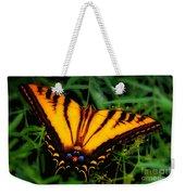 Yellow Orange Tiger Swallowtail Butterfly Weekender Tote Bag