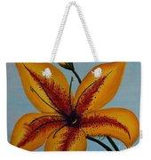 Yellow Oriental Lily Weekender Tote Bag