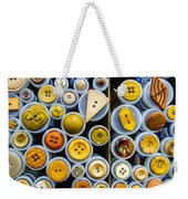 Yellow Palate Weekender Tote Bag