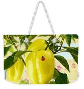 Yellow Pepper Weekender Tote Bag