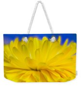 Yellow Petal Explosion Weekender Tote Bag
