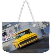 Yellow Pick Up Truck Weekender Tote Bag