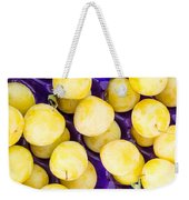 Yellow Plums Weekender Tote Bag