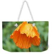 Yellow Poppy - Morning Dew Weekender Tote Bag
