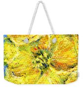 Yellow Poppy Weekender Tote Bag