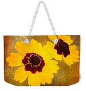 Yellow Prize Weekender Tote Bag