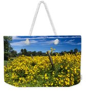 Yellow Profusion Weekender Tote Bag