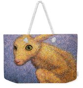 Yellow Rabbit Weekender Tote Bag