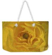 Yellow Ranunculus Weekender Tote Bag
