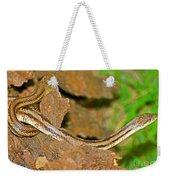 Yellow Rat Snakes Weekender Tote Bag