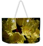 Yellow Rhododendron Weekender Tote Bag