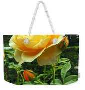 Yellow Rose And Buds Weekender Tote Bag