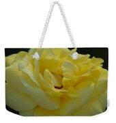 Yellow Rose Frills Weekender Tote Bag