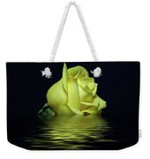 Yellow Rose II Weekender Tote Bag by Sandy Keeton