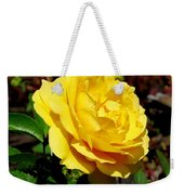 Yellow Rose IIi Weekender Tote Bag
