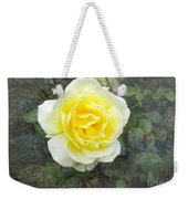 Yellow Rose Of Summer Weekender Tote Bag