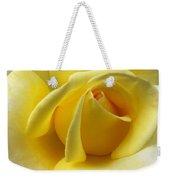 Yellow Rose Softness Weekender Tote Bag