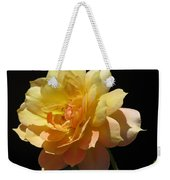 Yellow Rose Weekender Tote Bag