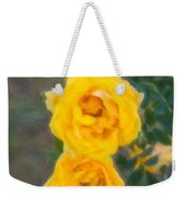 Yellow Roses On A Bush Weekender Tote Bag