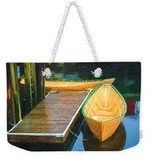 Yellow Rowboats Weekender Tote Bag