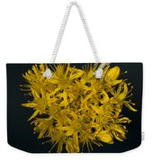 Yellow Sedum Weekender Tote Bag