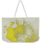 Yellow Shell Weekender Tote Bag