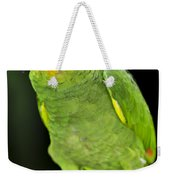 Yellow-shouldered Amazon Parrot Weekender Tote Bag